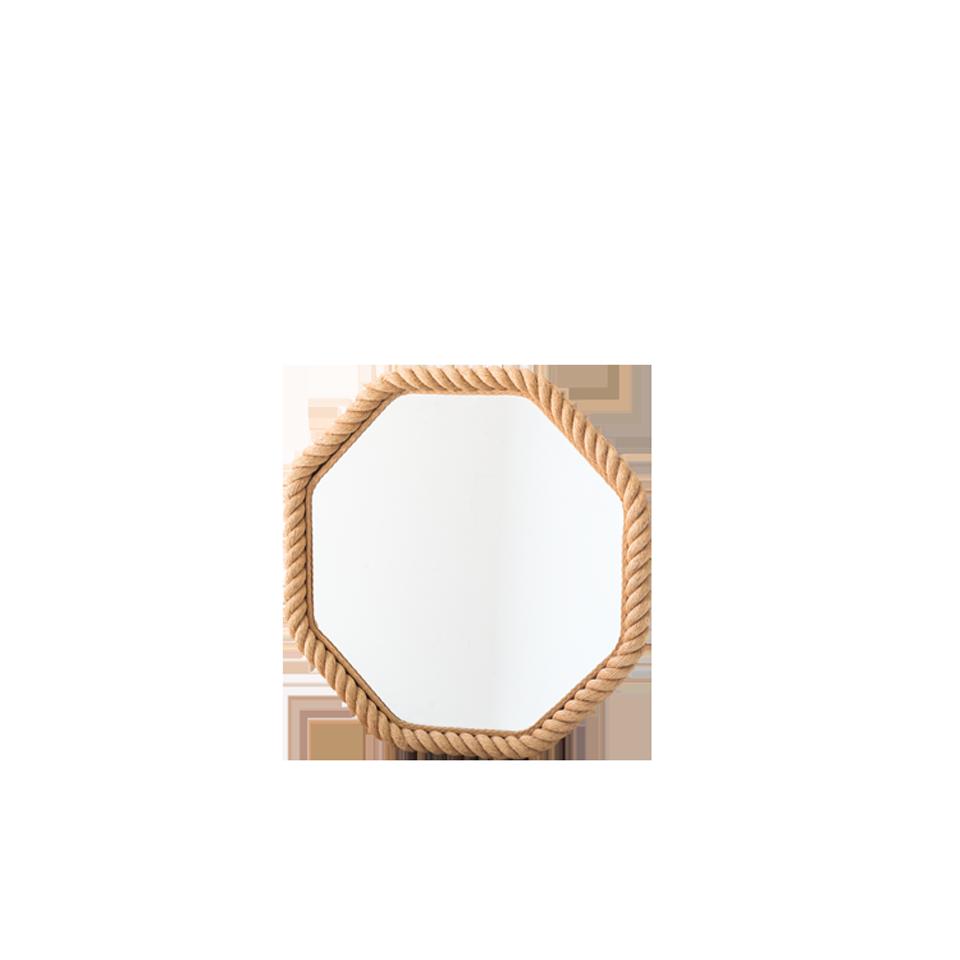 Audoux Minet Hexiagon Rope Mirror