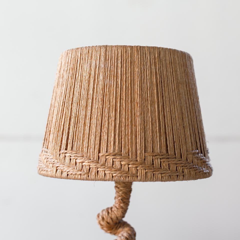 Audoux-Minet Rope Desk Lamp