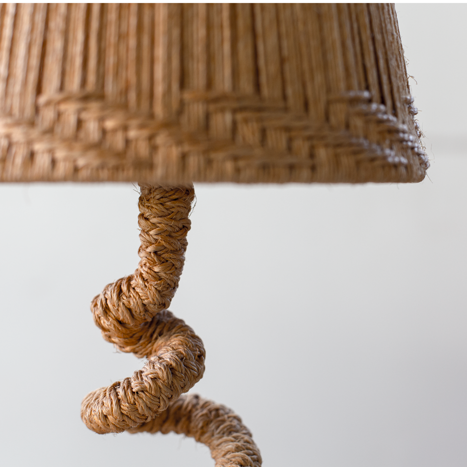 Audoux-Minet Rope Desk Lamp
