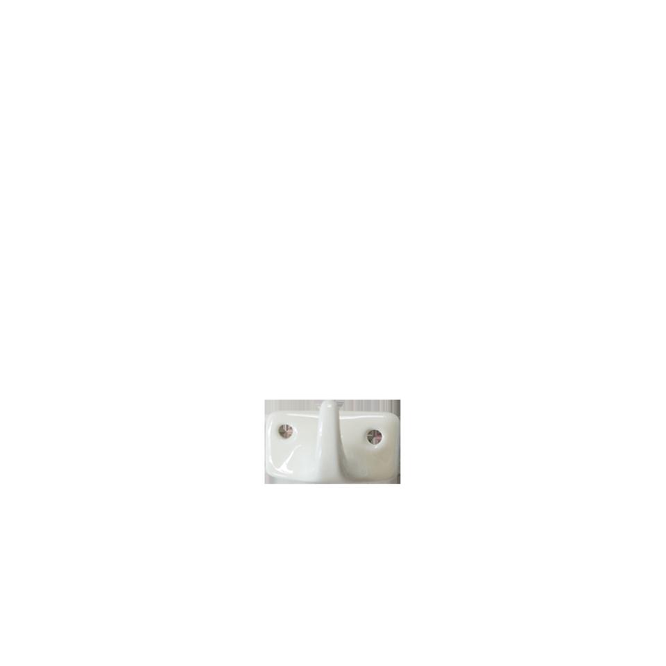 Ceramic Hook Single