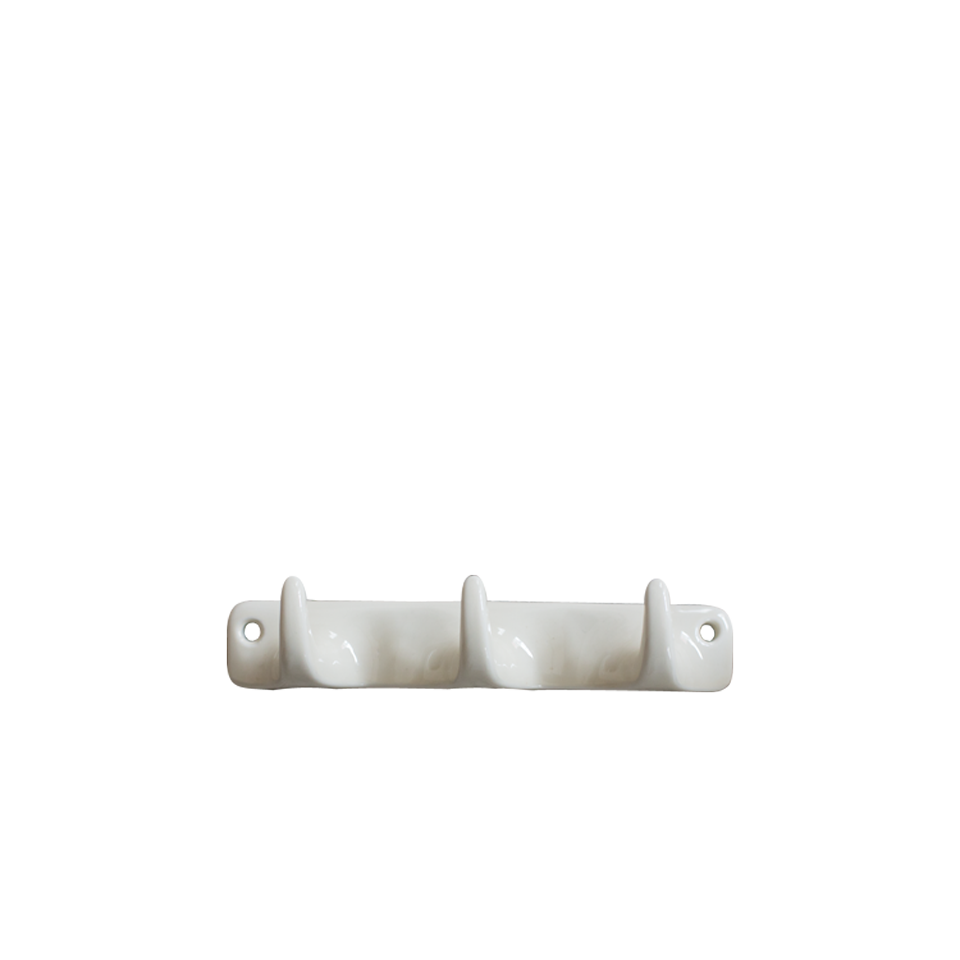 Ceramic Wall Hook Triple