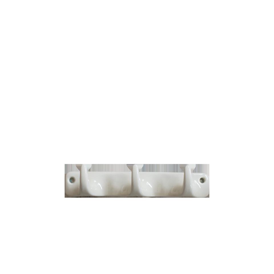 Ceramic Wall Hook Triple