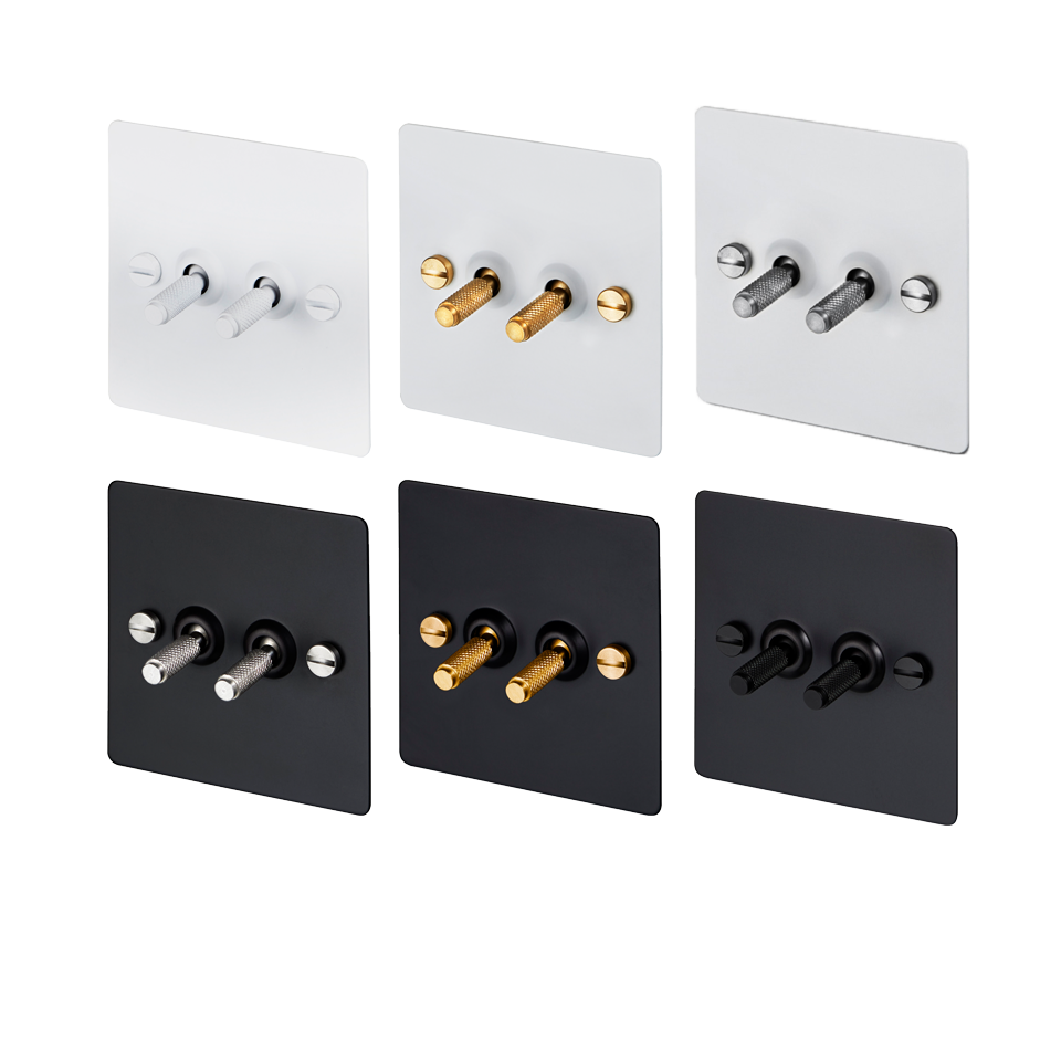 2G TOGGLE SWITCH(WH/BL)