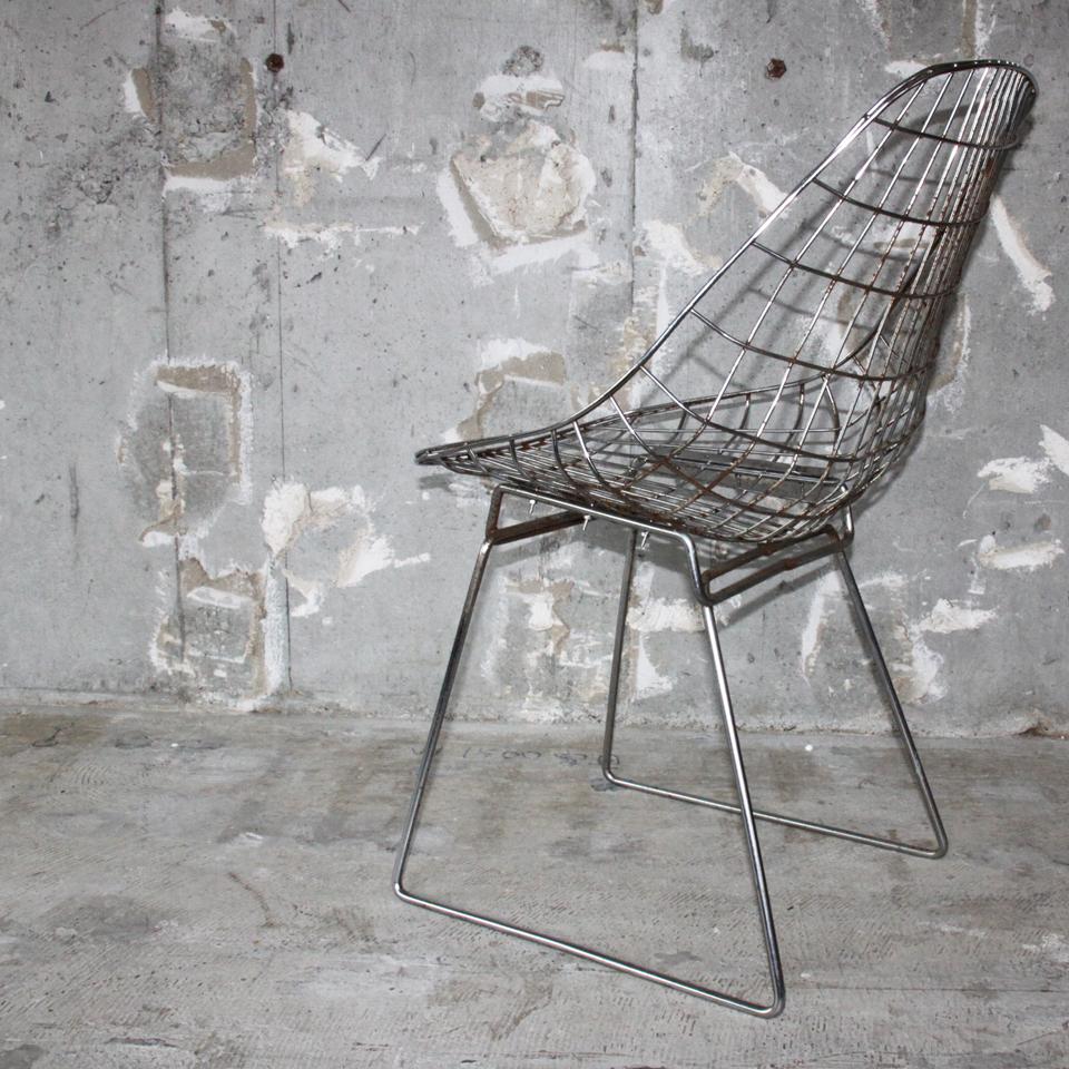 Cees Braakman & Adriaan Dekker PASTOE Wire Chairs SM05