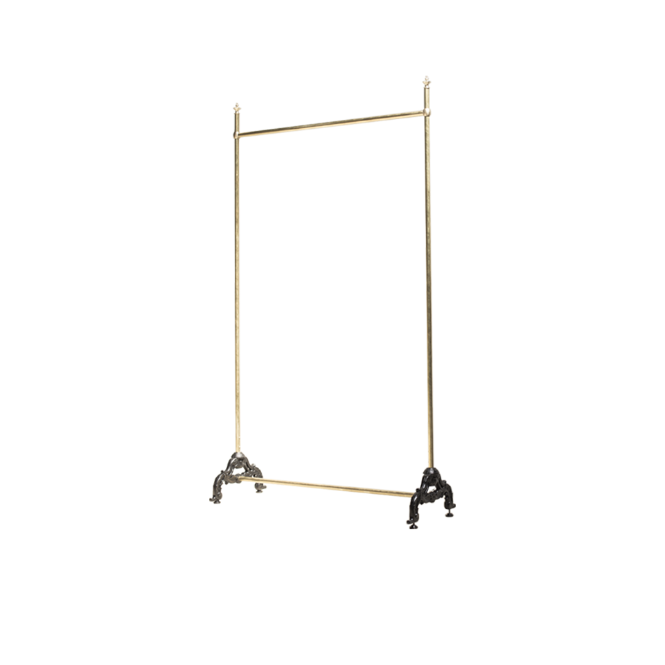Napoleon lll style rail hanger rack