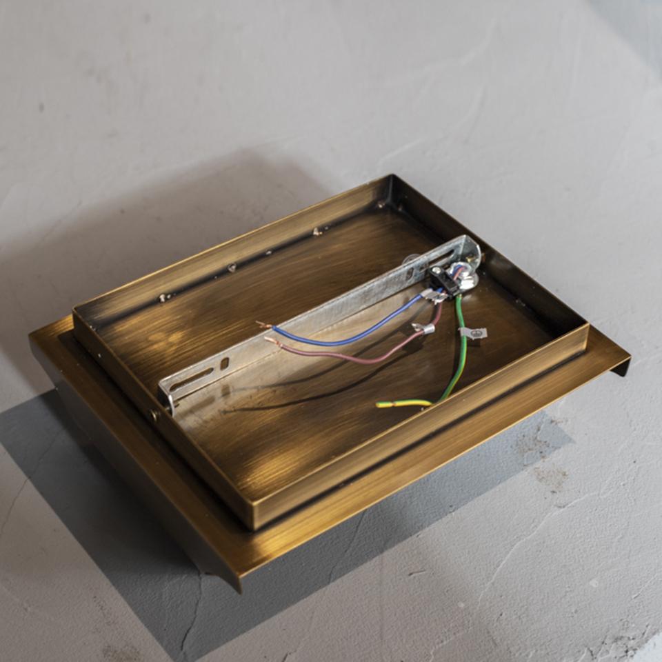 Old Color Brass Bracket Light