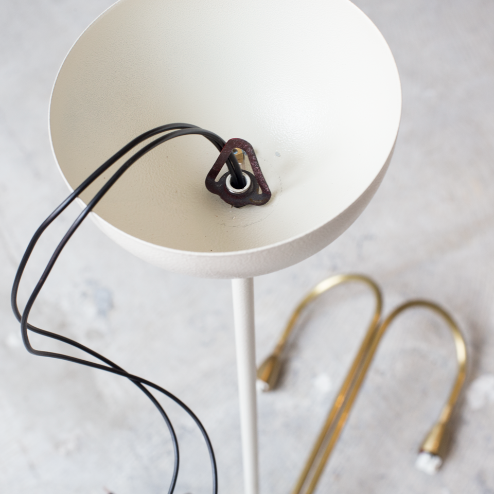 2 Brass arms Tube Lamp