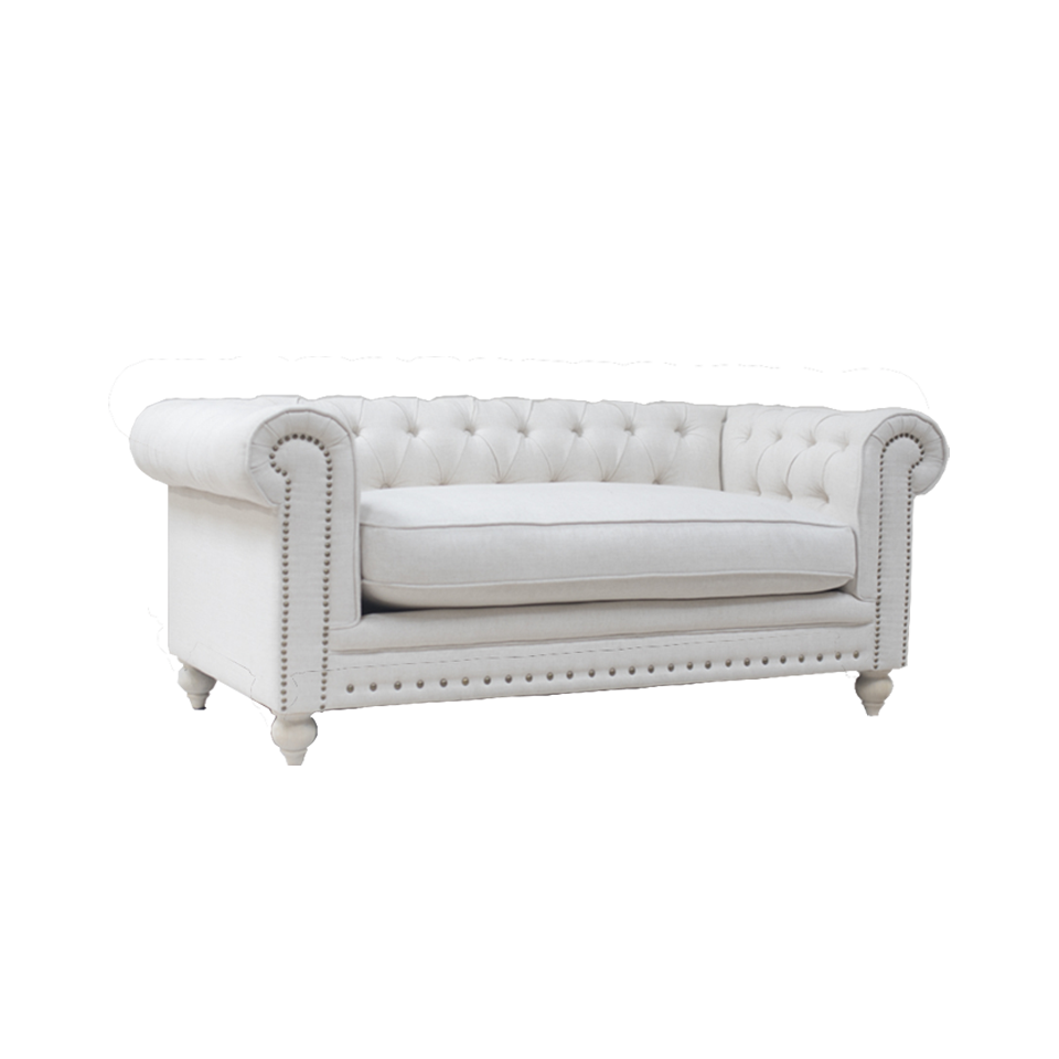 Off White 2 Seater Sofa