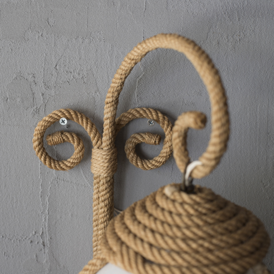Rope Bracket Light by Audoux-Minet