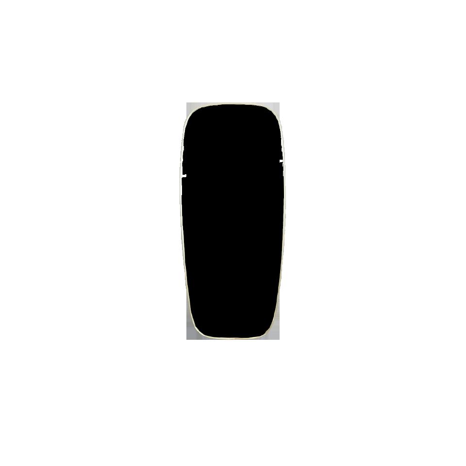 Italian Brass Frame Mirror(A)
