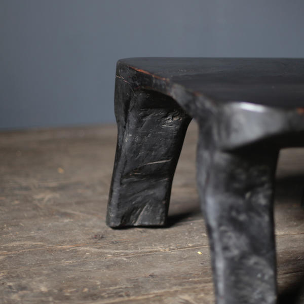 Japanese Hand Carved Flower Table
