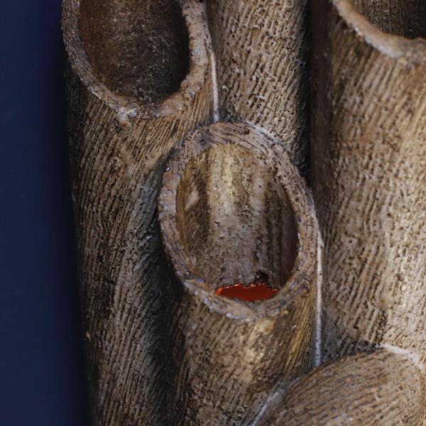 竹 バンブー ヴィンテージ セラミック ウォールランプ