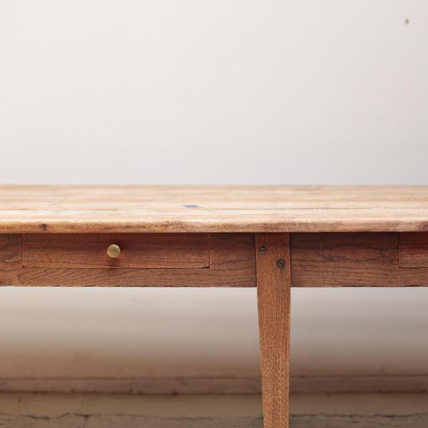 ダイニングテーブル ワークテーブル 大型 アンティーク
