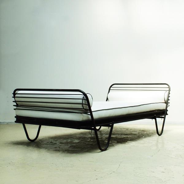Mathieu Matégot Modern daybed 'Kyoto'