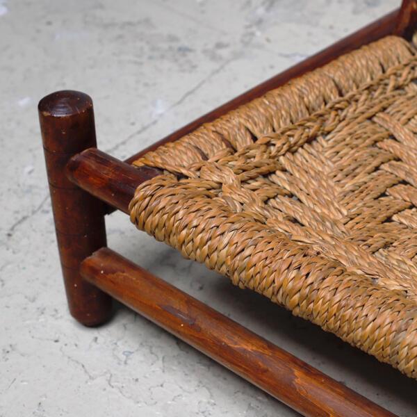 audoux-minet chair vintage mid century
