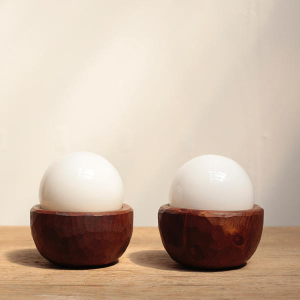 木彫り ランプ フランス ヴィンテージ