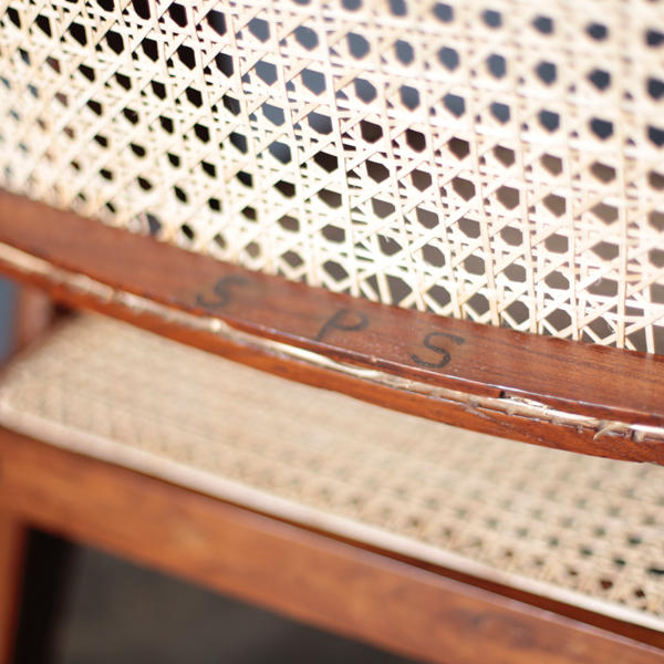 Office Chair by Pierre Jeanneret / floating back