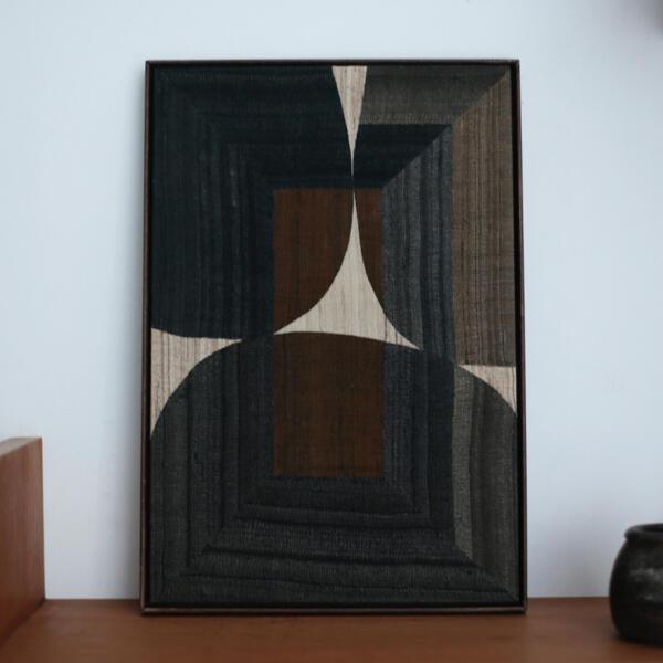 x+l  コラージュ アート ファブリック モダン