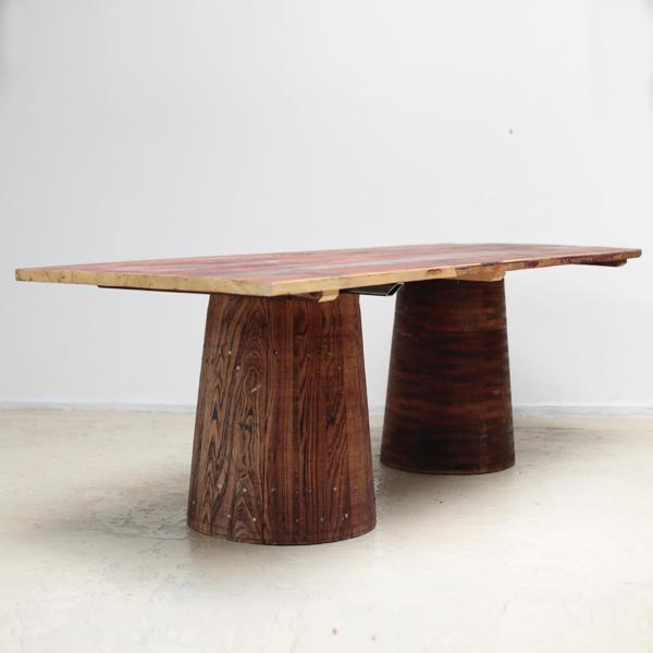 ダイニングテーブル アンティーク インダストリアル