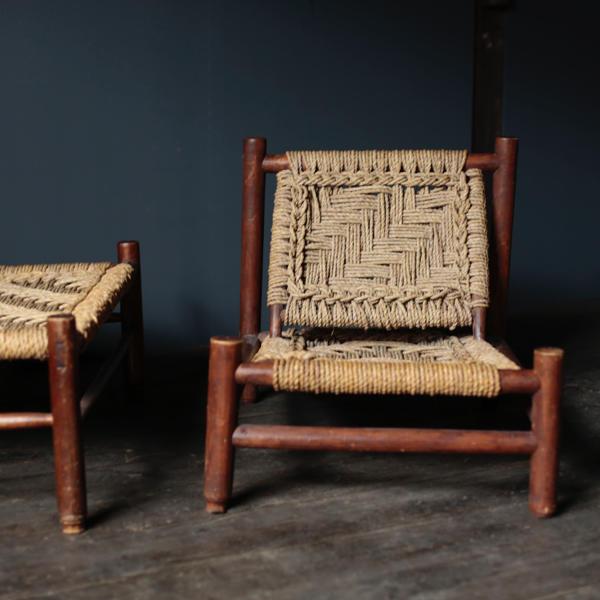 audoux-minet chair vintage