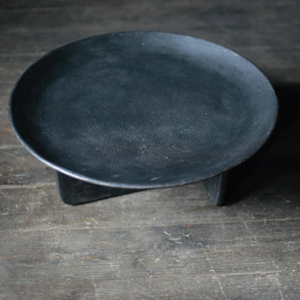 Concrete Coffee Table / round,BK by x+l