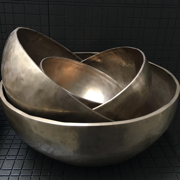 Large Bronze Bowl by x+l