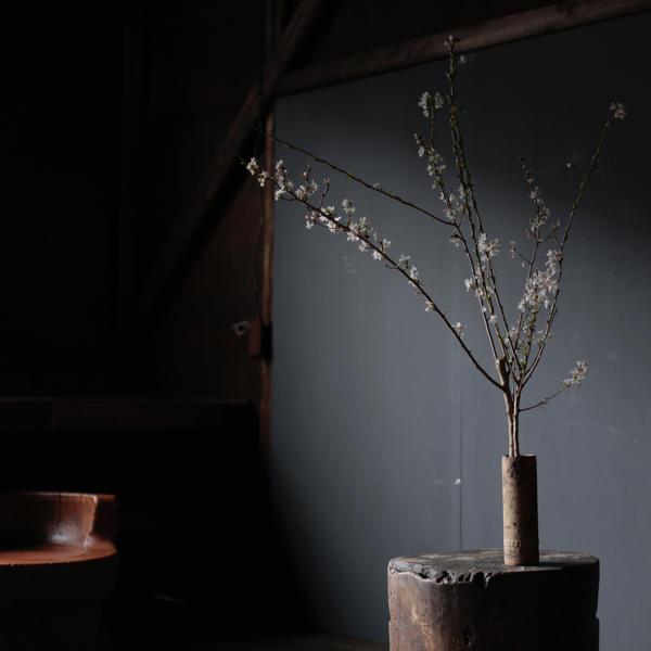 アンティーク 鋳鉄 オブジェ 花器