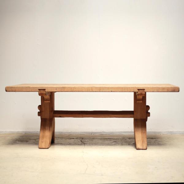 アンティーク ダイニングテーブル オーク