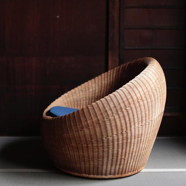 Isamu Kenmochi Yamakawa Rattan Chair