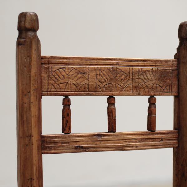 アンティーク 牧歌的 プリミティブ 椅子