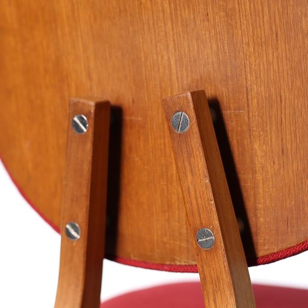 Persimmon Chair Designed For The Xii Triennale Di Milano