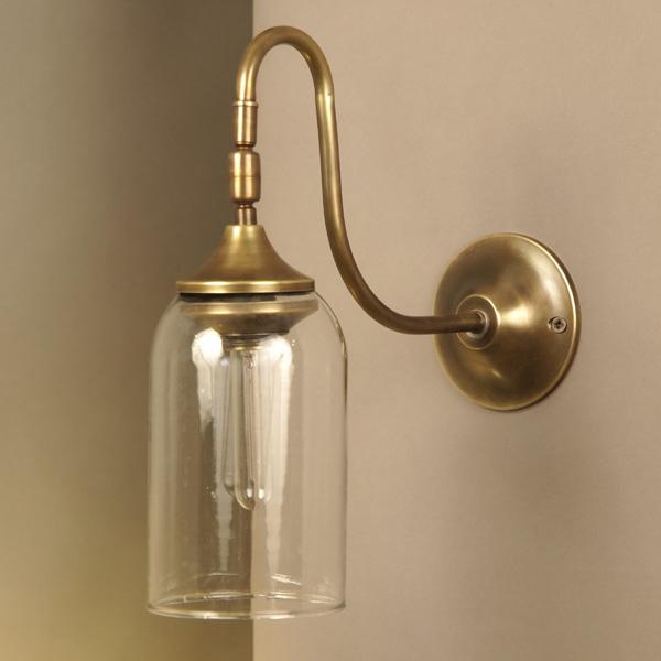 真鍮 ブラケット ランプ