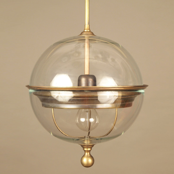Big brass glass ball ceiling lamp objet d art mozeypictures Images