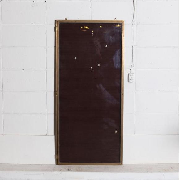 真鍮フレーム メニュー表