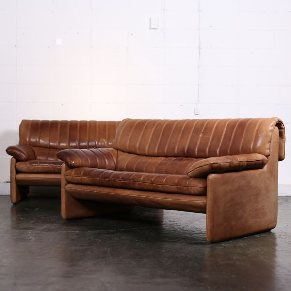 De Sede DS 85 Sofa 2 Seater In Thick Leather