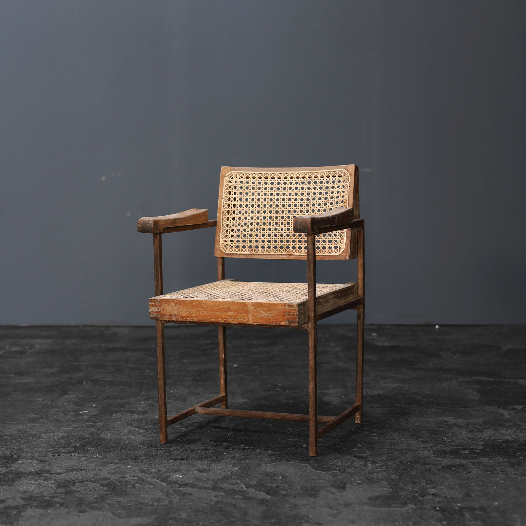 iron chair by pierre jeanneret objet d art