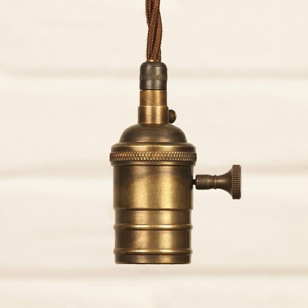 真鍮 ランプ モダン インダストリアル ランプホルダー
