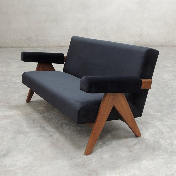 Cushion Sofa / Pierre Jeanneret New production 再生産 ジャンヌレ クッション