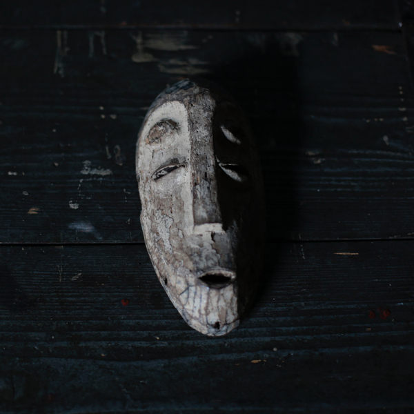 Antique African Wooden Mask OB2