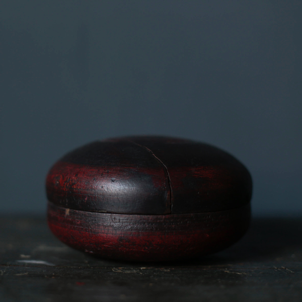 Antique Bindi Case with red color from India