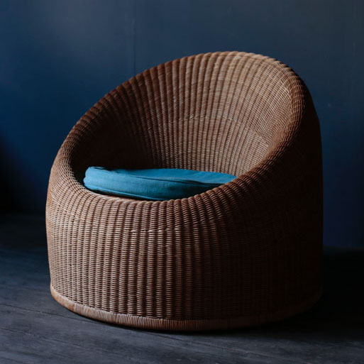 Isamu Kenmochi Rattan Chair for Yamakawa Rattan