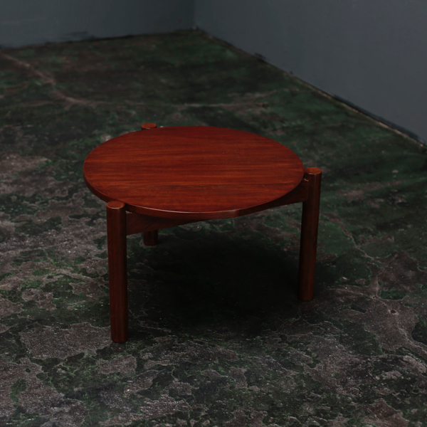 Round Coffee Table by Pierre Jeanneret