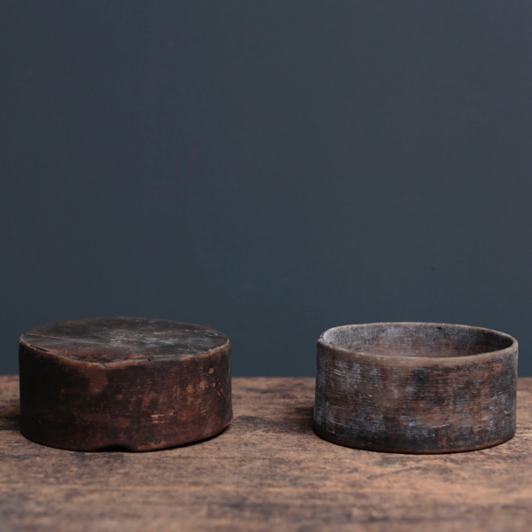 Japanese Antique Round Case
