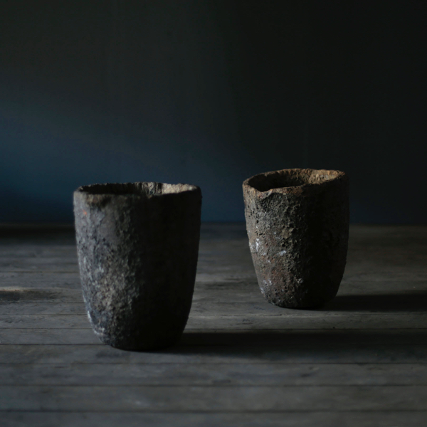 プランター Pair of Crucible Planter