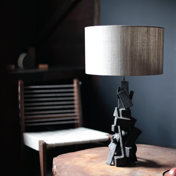 Table Lamp Wood by x+l
