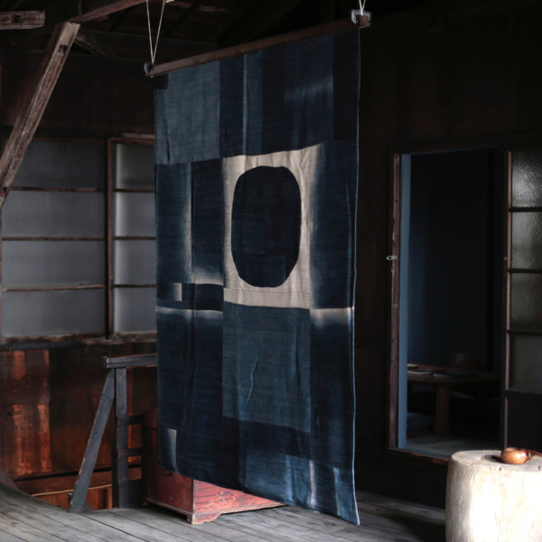 dip-dye Patchwork Blanket by x+l