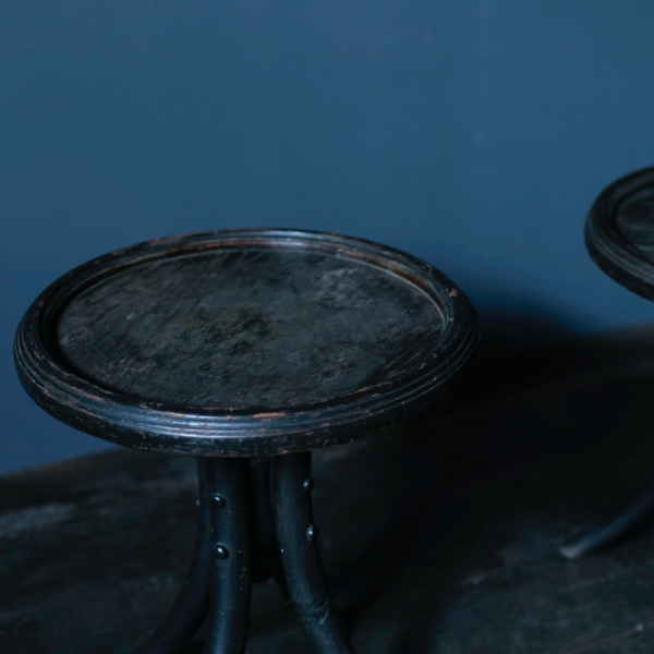 Pair of Vintage Stools from the early Akita Mokko working