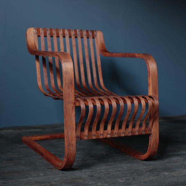 Ubunji Kidokoro Bamboo Chair Perriand Japanese