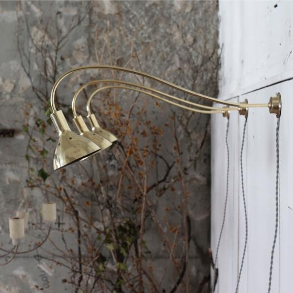 真鍮 アーム ブラケット ランプ