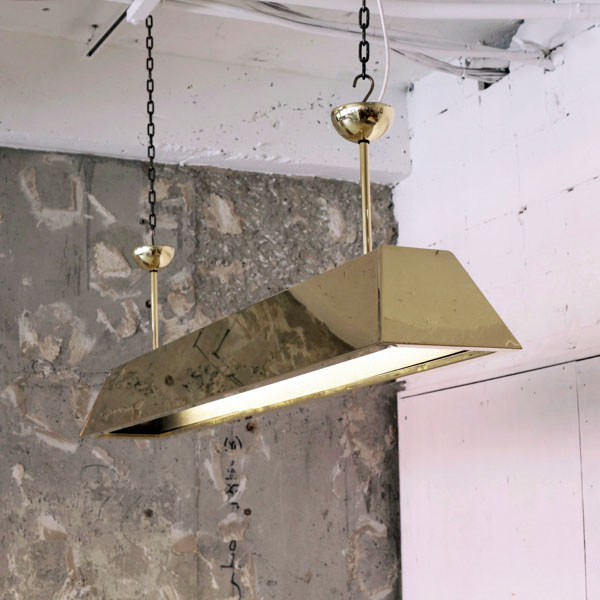 真鍮 チューブライト brass tube light